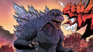 Illustration for article titled This is probably the best-looking Godzilla comic you've ever read