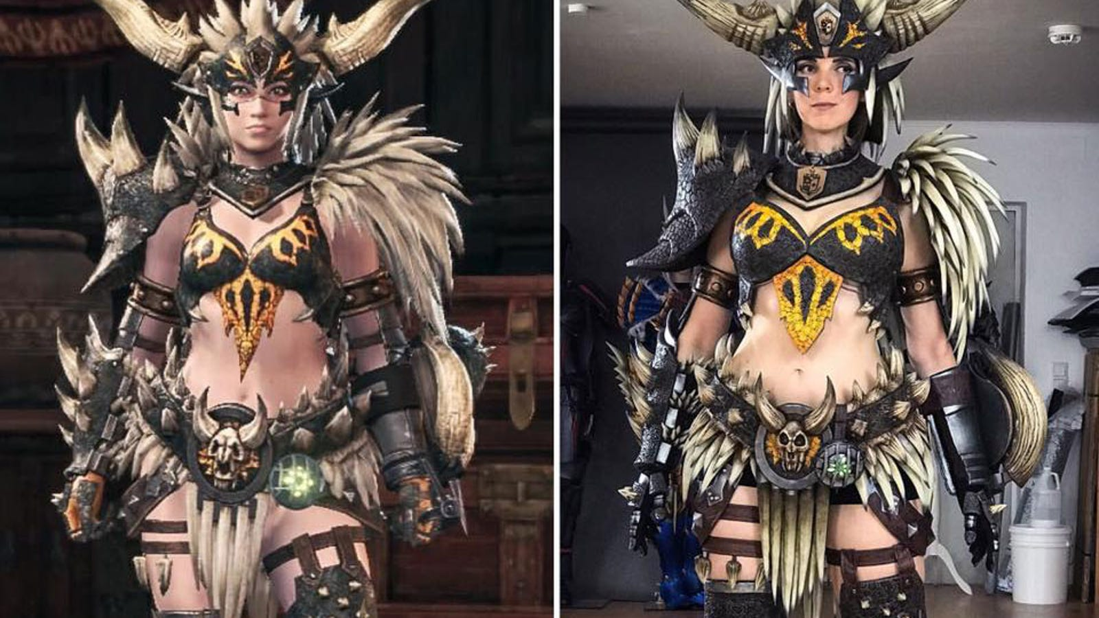 Check Out This Monster Hunter Cosplay