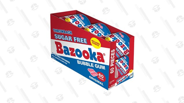 This Bazooka Gum Is 30% off and Now so Are Your Fillings