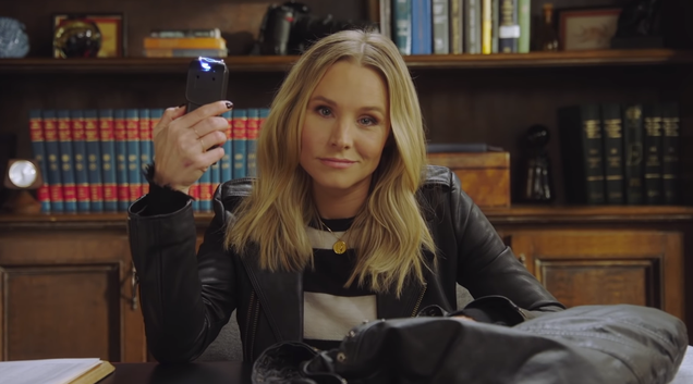 Hulu's new Veronica Mars series has a teaser (and a taser)