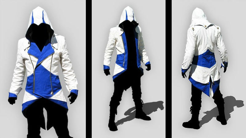 Illustration for article titled Sweet Mother of Assassin's Creed III, I Would Wear This Jacket Up And Down And Everywhere