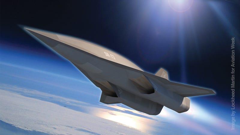 Así es el nuevo avión espía supersónico de Estados Unidos