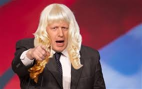 Illustration for article titled Boris Johnson Actually a woman?