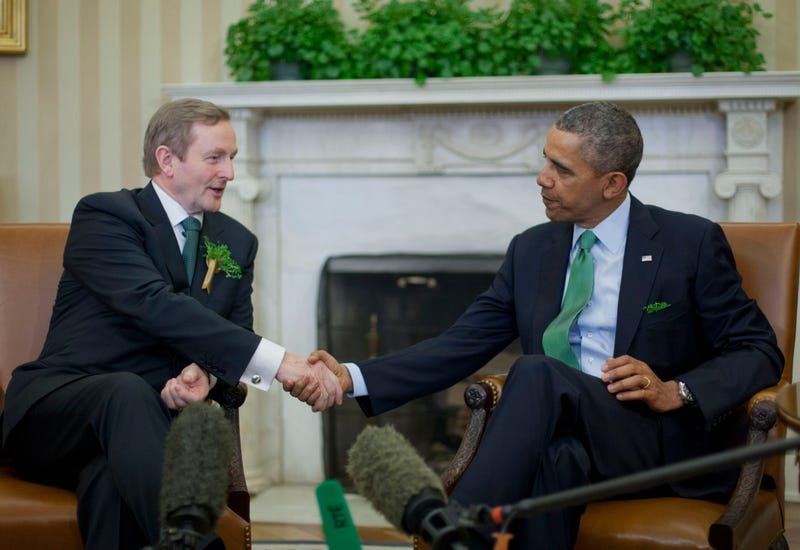Illustration for article titled Irish PM Urged To Support St Paddy's Day LGBT Negotiations
