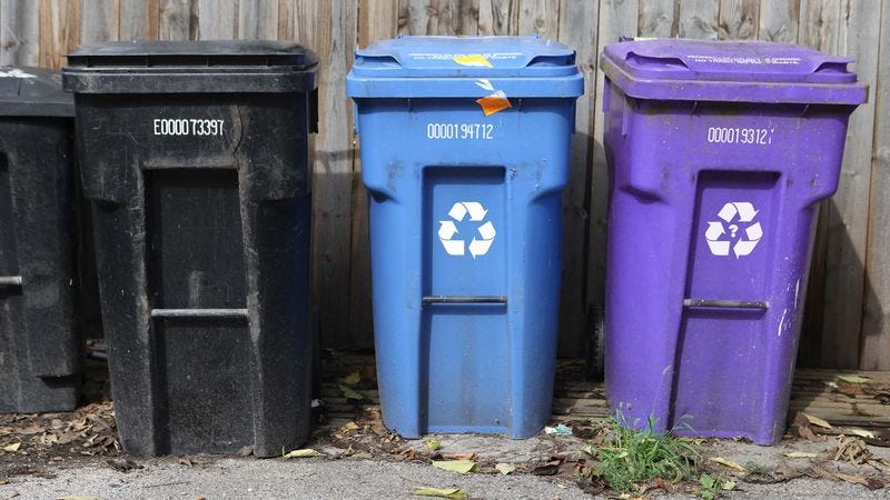 Illustration for article titled More Cities Providing Bins For Materials That Look Recyclable