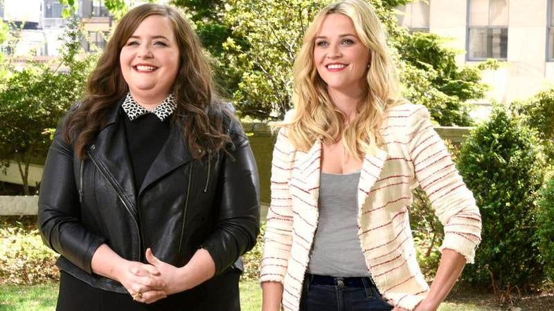 Aidy Bryant, Reese Witherspoon (NBC)