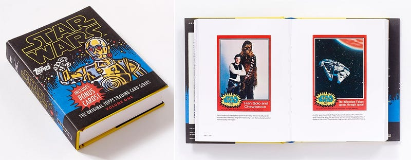 Illustration for article titled This Book's Collected All the Original Topps Star Wars Cards So You Don't Have To