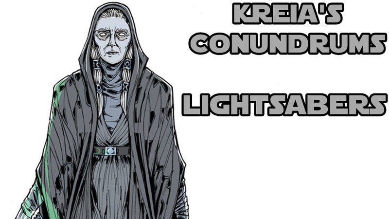 Illustration for article titled Kreia's Conundrums - Lightsabers
