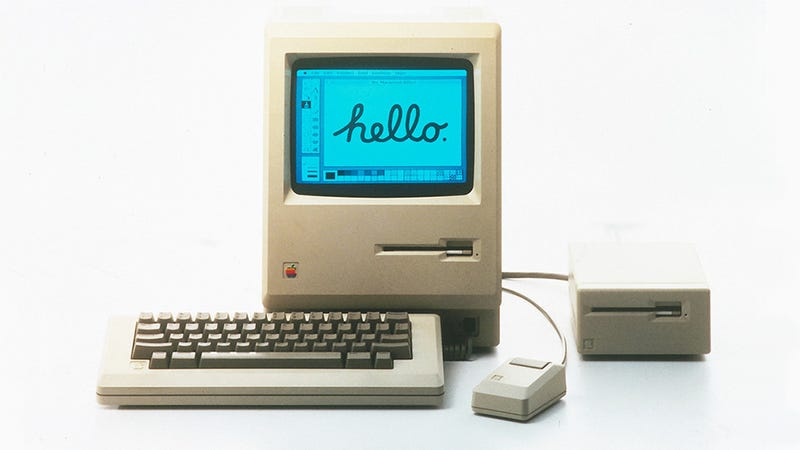 Illustration for article titled Happy 30th Birthday Macintosh, the Controversial World-Changer