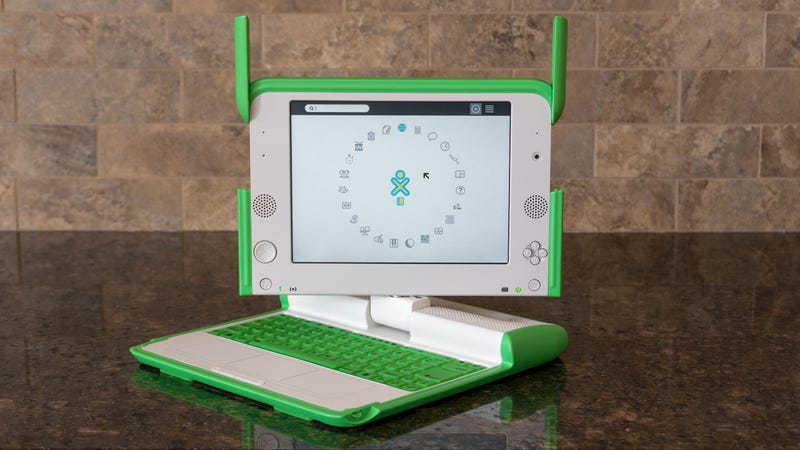 Illustration for article titled I Miss the OLPC, a Little Laptop That Dreamed Bigger Than It Could Deliver