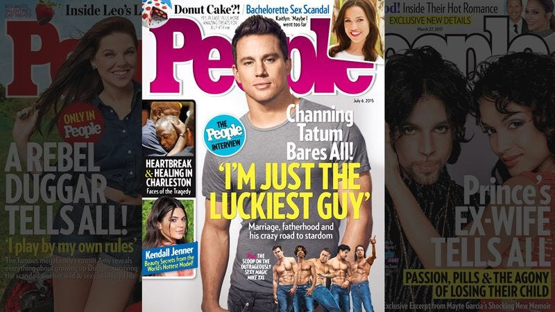 Illustration for article titled New Study Finds Being On Cover Of 'People' Magazine Best Predictor Of Revealing All