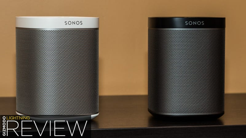 Illustration for article titled Sonos Play:1 Review: A Fun-Size Box of Wireless Audio Awesome