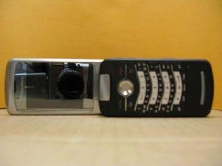 Illustration for article titled BlackBerry Kickstart Flip Phone In the Flesh (Looks Chunky)