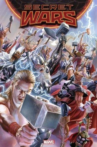 Illustration for article titled Secret Wars #2: A Goddoom Delight