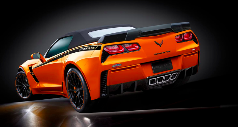 The 2019 Yenko Corvette Is A 1000 HP Tire-Scorcher Available
