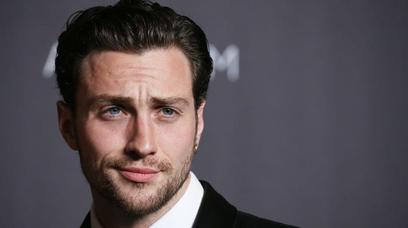 Kick-Ass star Aaron Taylor-Johnson, who's set to star in the new Kingsman prequel project.