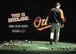 Illustration for article titled Budding O's Star Gets Injured In Commercial Shoot. Of Course He Does.