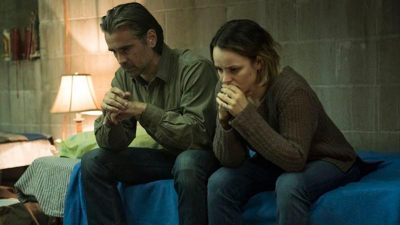 Colin Farrell, Rachel McAdams. (HBO/Lacey Terrell)
