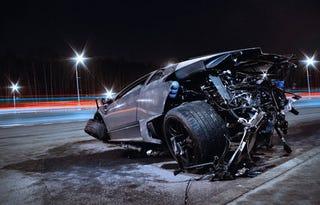 Illustration for article titled Even In Death, The Lamborghini Murcielago Is Beautiful