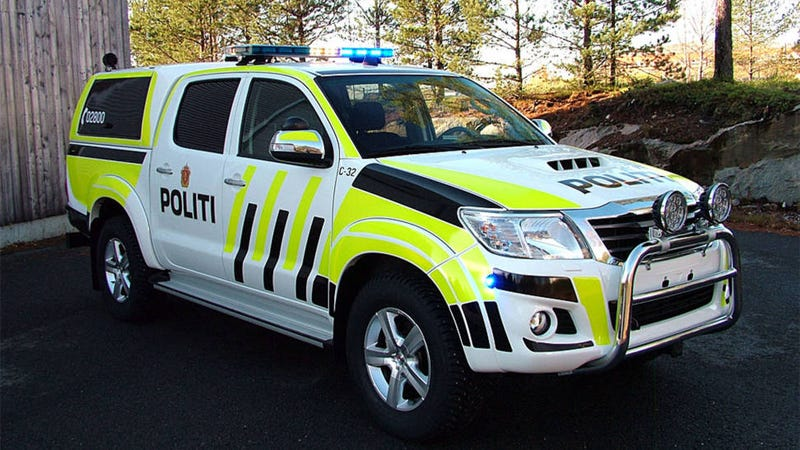 Illustration for article titled We're getting awesome cop cars in Norway :)
