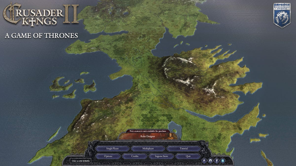 The Perfect Game Of Thrones Game Is A PC Mod