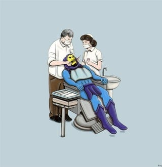Illustration for article titled Masters Of The Universe Goes To The Dentist