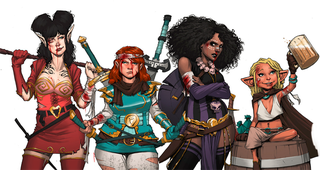 Illustration for article titled Rat Queens Is Going To Be A TV Show!