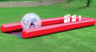 "Illustration for article titled Your Kids Will Love Playing ""Human Bowling Ball,"" The Most Insane Backyard Game Ever"