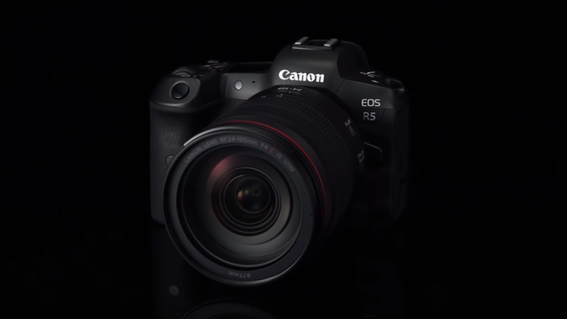 Canon s Next Fancy Full-Frame Mirrorless Cam Is the EOS R5
