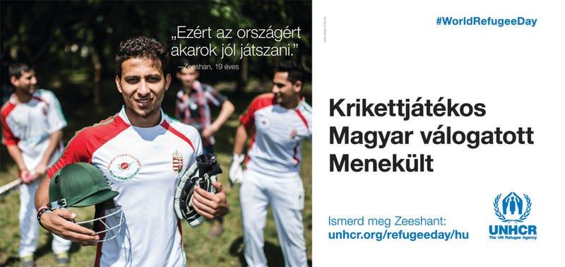 Illustration for article titled Nem fogod elhinni: még egy menekültes plakátkampány indul