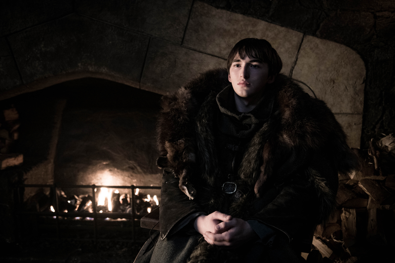 Bran (Isaac Hempstead-Wright) gets ready for an old friend to stop by.