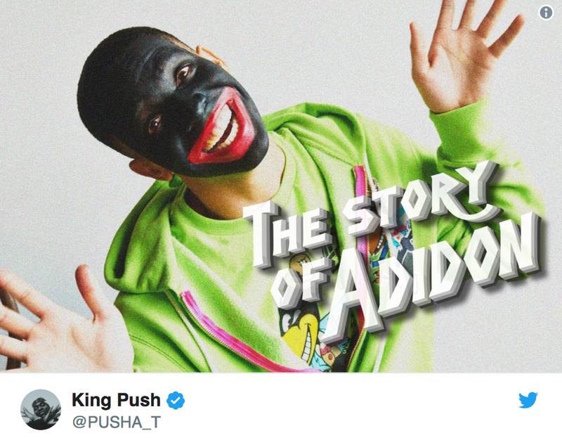 Illustration for article titled Drake Explains Blackface Photo From Pusha T's 'Story ofAdidon'