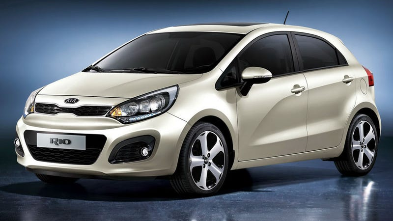 Illustration for article titled 2012 New Kia Rio no longer poster car for personal defeat