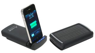 Illustration for article titled Compact Portable Power Dock Soaks Up the Sun