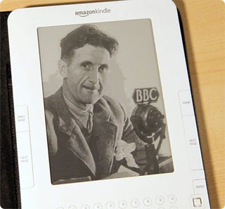 "Illustration for article titled Amazon Secretly Removes ""1984"" From the Kindle"