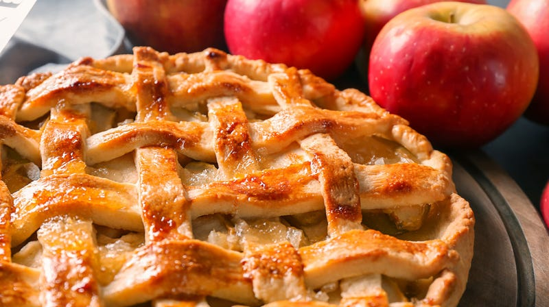How do you make something as great as apple pie even greater?