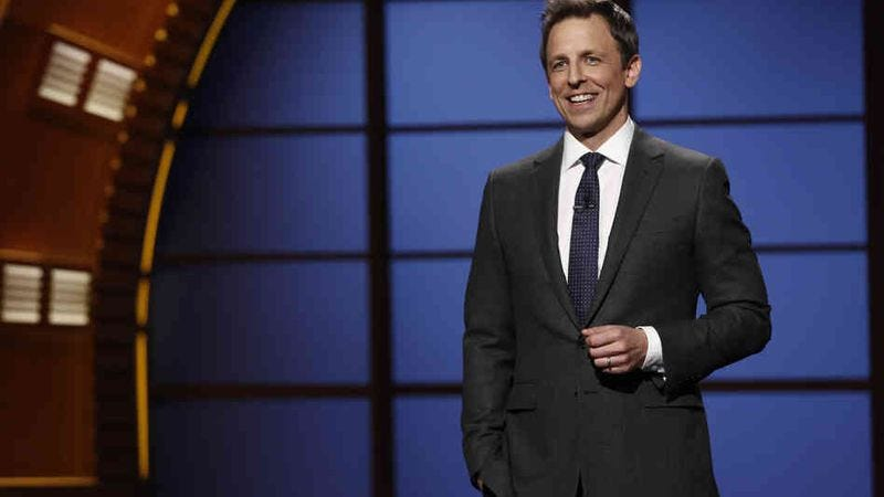 Illustration for article titled Seth Meyers will also host this year's Emmys