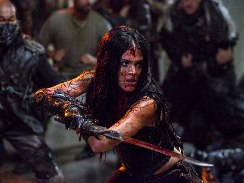 Illustration for article titled Octavia rises on a bloody, brutal The 100