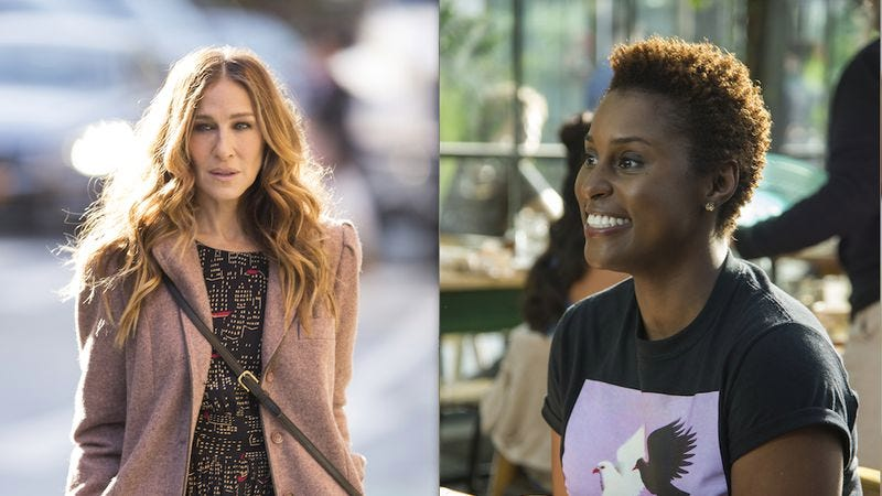 Sarah Jessica Parker, Issa Rae (Images: HBO)