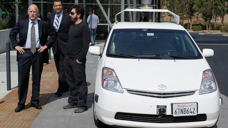 Illustration for article titled Tesla quiere fabricar con Google los primeros coches autónomos