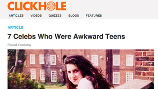 Illustration for article titled Jia Loves Clickhole and Totally Gets It