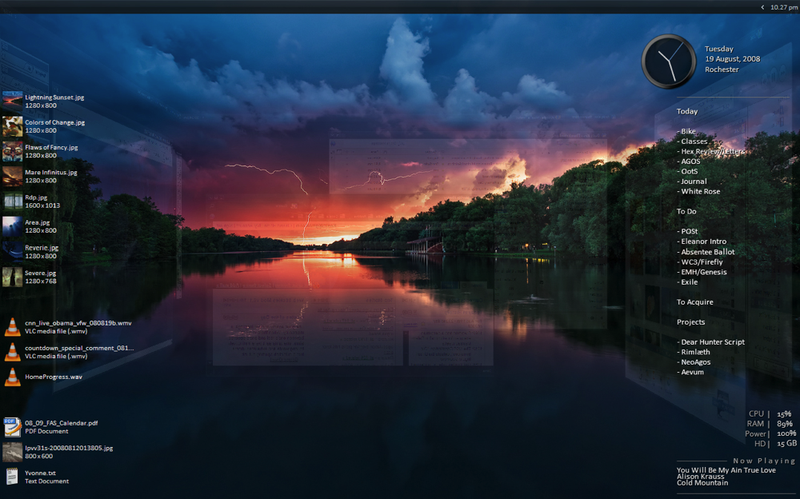 Illustration for article titled Lightning at Sunset
