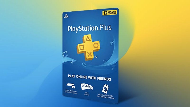 Illustration for article titled Get A 12-Month PlayStation Plus Subscription For $43