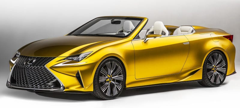 Illustration for article titled Report: Lexus Convertible Isn't Happening Because Of Pissed-Off Dealers