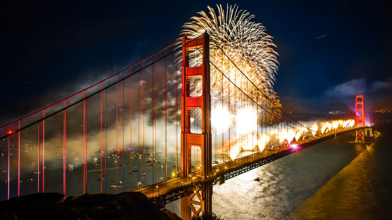 Illustration for article titled The Golden Gate Bridge Looks Good as Ever on Its 75th Birthday