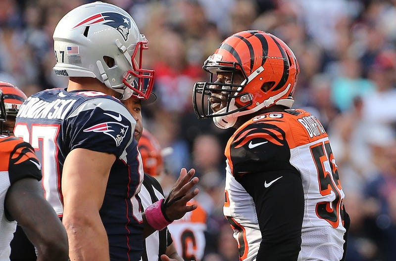 National Football League has another Burfict play from New England to examine