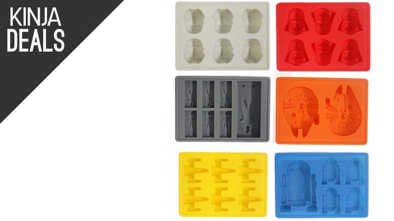 Illustration for article titled These Star Wars-Themed Ice Trays Are All Under $4 Today