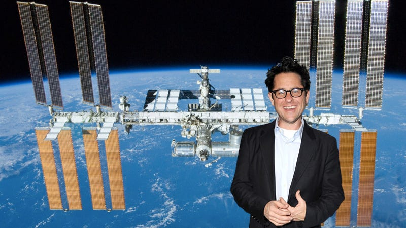 Illustration for article titled J.J. Abrams to hold Star Trek chat with the ISS crew... IN SPACE