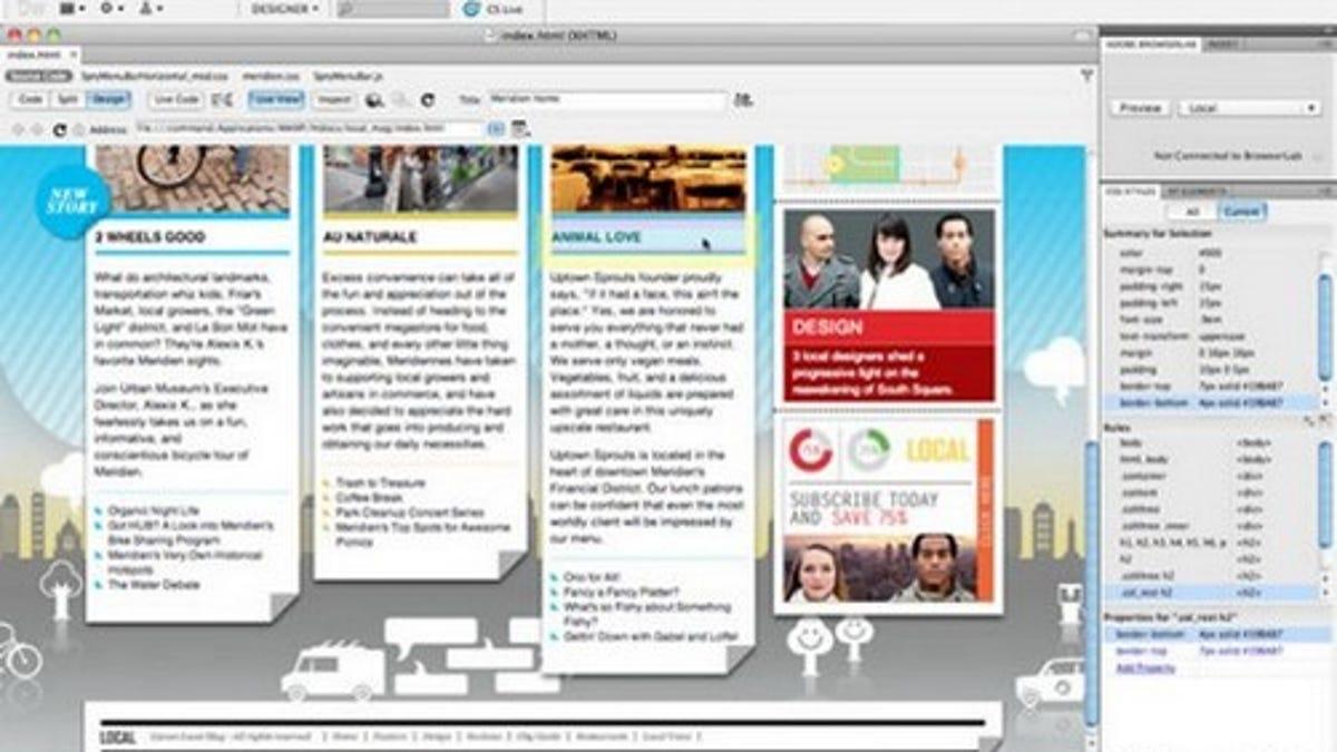Five Best WYSIWYG HTML Editors
