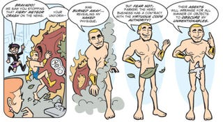 Illustration for article titled Webcomic The Hero Business goes inside a PR firm for superheroes